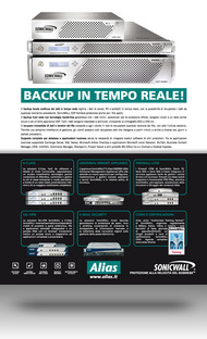 Alias campagna SonicWALL Back-up