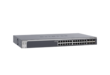 Linea ProSafe - Smart L2 Switch stakable rack - 24 porte Gigabit + 4 slot per Gigabit SFP/MiniGBIC (AGM731F - AGM732F) e due porte combo