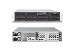 SuperServer 6026T-URF - 2U, 8x 3.5