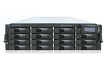UltraShare Enterprise NAS 2U 16Bays diskless - Quad Core Xeon 2.0G - 4GB DDR3 - 2x GbE - VM Ware Ready